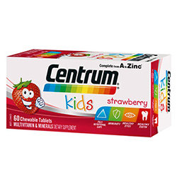 Centrum Kids Chewable Tablet 60's