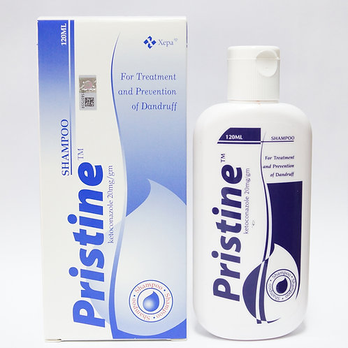 (Bundle of 2 bots) Ketoconazole 2% Shampoo (Pristine) 120mL
