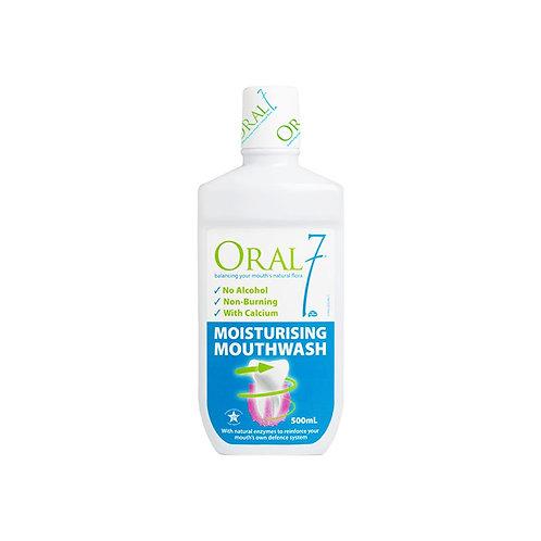 Oral 7 Moisturizing Mouthwash 500mL