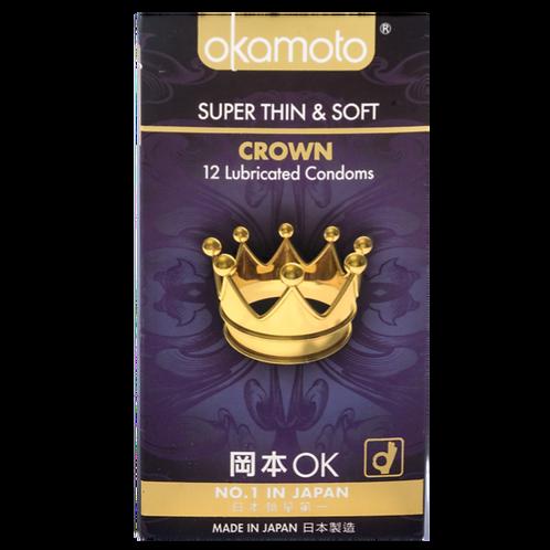 Okamoto Super Thin & Soft CROWN Condoms 12's