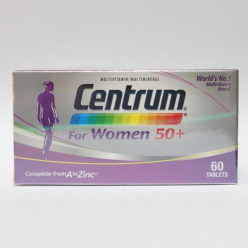 CENTRUM For Women 50+ tablet 60's