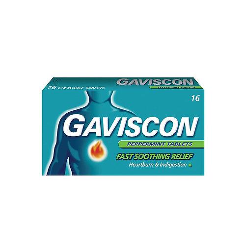 Gaviscon Original 250mg Tablets 16's