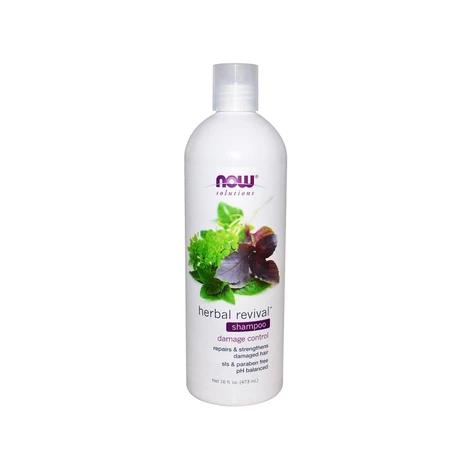NOW Herbal Revival Shampoo 473mL