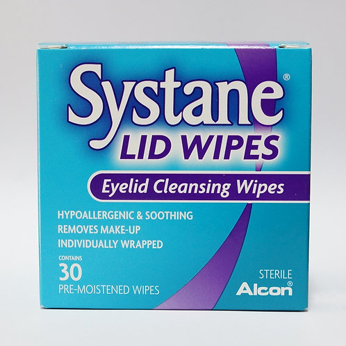 Systane Lid Wipes 30's