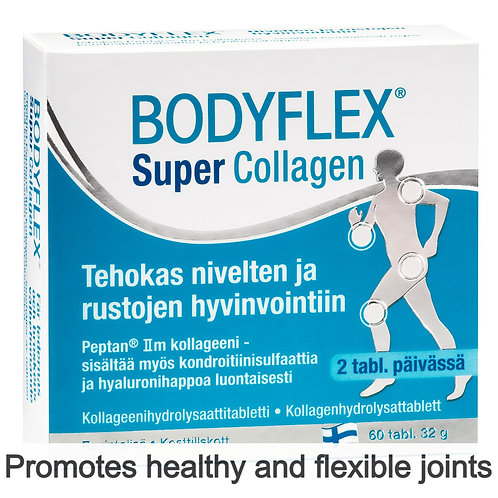 Hankintatukku Bodyflex Super Collagen tabs 60's