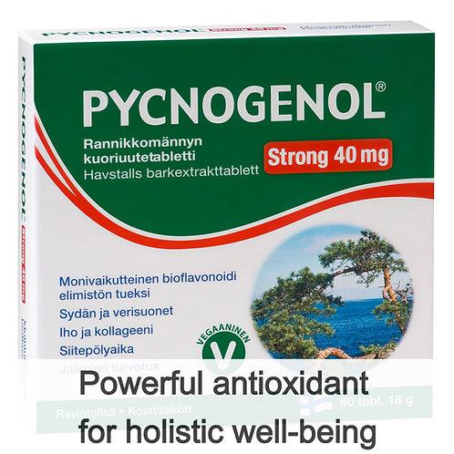 Hankintatukku Pycnogenol Strong 40mg tabs 60's