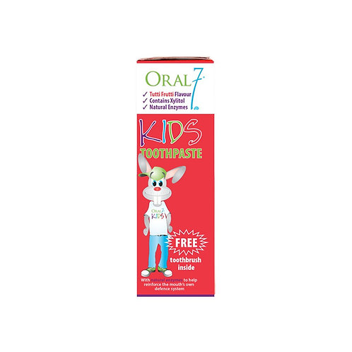 Oral 7 Kids Toothpaste 50mL/65g