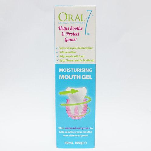 Oral 7 Moisturizing Mouth Gel 40mL/50g