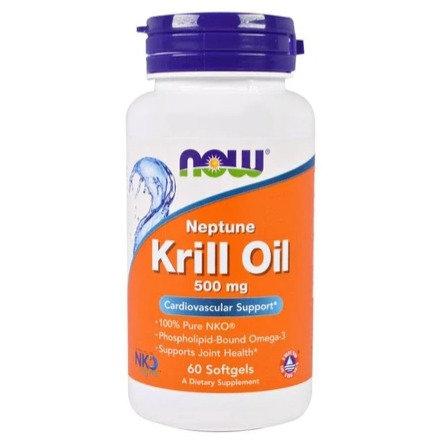 NOW Neptune Krill Oil 500mg 60's Softgels