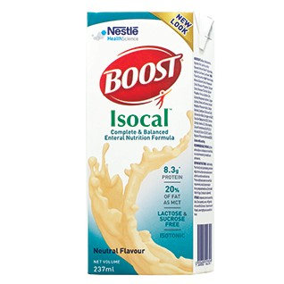 (Bundle of 2 cartons) Boost Isocal Liquid 237mL 24's