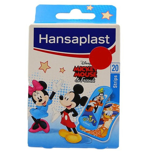 Hansaplast Mickey Mouse Strips 20's