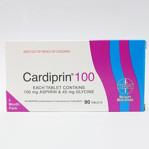 Aspirin 100mg S/L Tablets (Cardiprin) 90's