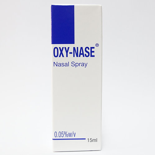 Oxymetazoline 0.05% Nasal Spray 15mL (Oxy-nase)