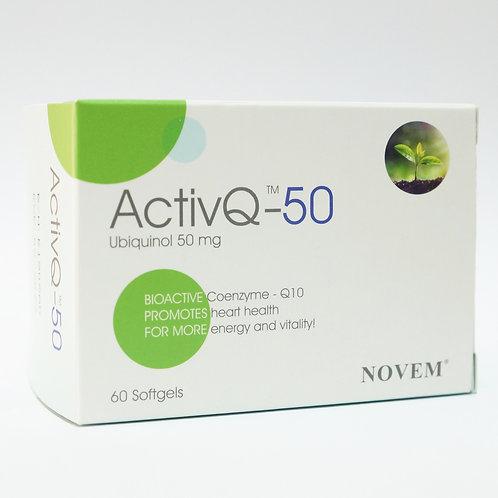 ActivQ-50 50mg softgels 60's