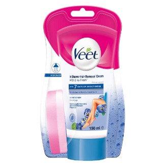 VEET In Shower Hair Removal Cream (Sensitive) 150mL