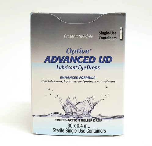 Optive Advanced 0.4mL Eye Drops 30's