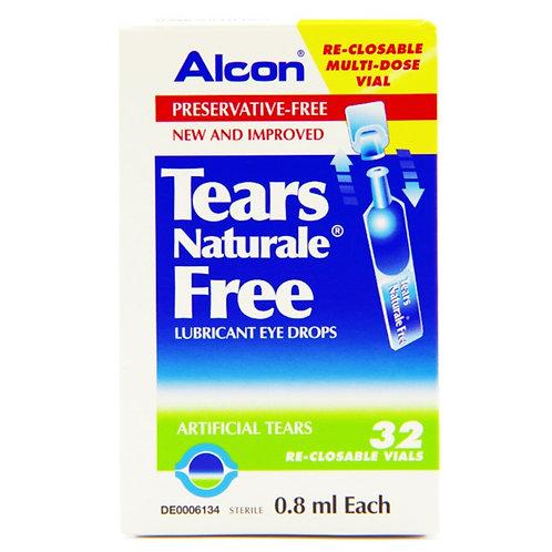 (Bundle of 2 boxes) Tears Naturale P/Free Eye Drops 0.8mL 32's