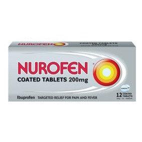 Ibuprofen 200mg Tablet (Nurofen) 12's