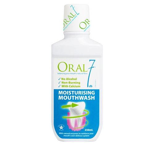 Oral 7 Moisturizing Mouthwash 250mL (Bundle of 2)