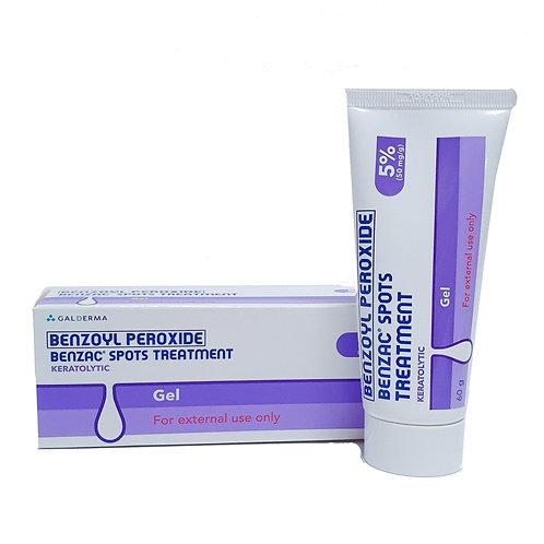 Benzac Spots Treatment Gel 5% 60g