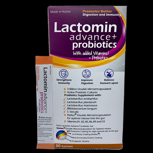 Lactomin Advance+ Probiotics Sachets 30's
