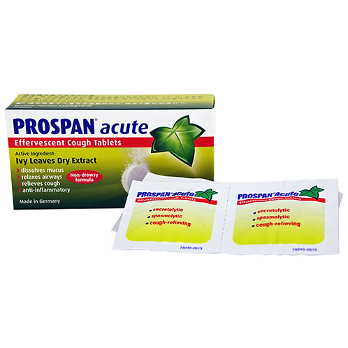 Prospan Acute Effervescent Tablets 10's x 2 boxes