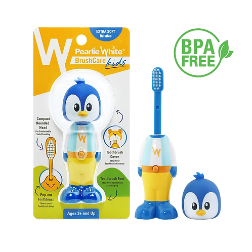 Pearlie White Kids Toothbrush Penguin