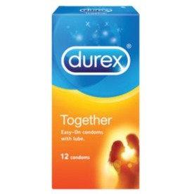 Durex Together Condoms 12's