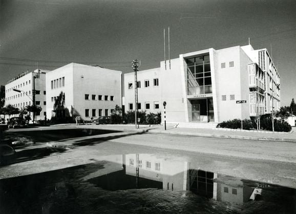 Histadrut House and the Tax Bureau