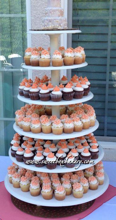 Facebook - Wedding cupcake tower. Check