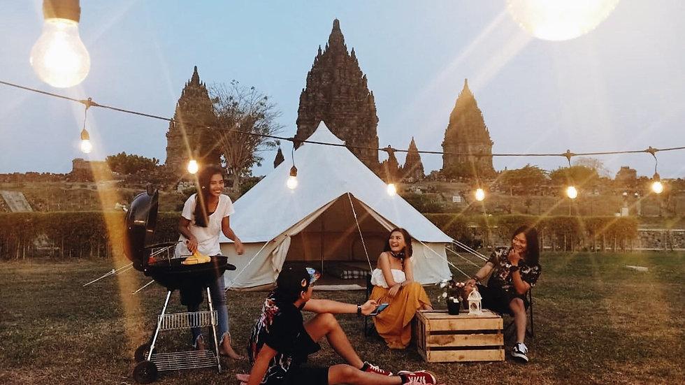 Cultural Glamping at Prambanan Temple