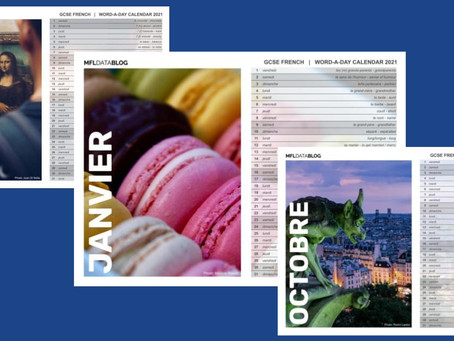 Printable: 2021 Word-A-Day Calendar (French)
