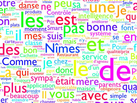 Mapped: 2018 French Reading paper (AQA Higher)