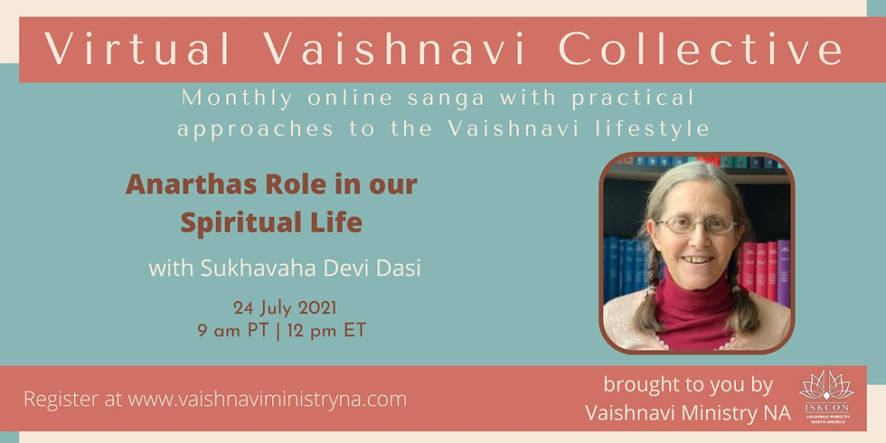 𝙑𝙞𝙧𝙩𝙪𝙖𝙡 𝙑𝙖𝙞𝙨𝙝𝙣𝙖𝙫𝙞 𝘾𝙤𝙡𝙡𝙚𝙘𝙩𝙞𝙫𝙚 —Zoom Sanga with Sukhavaha Devi Dasi