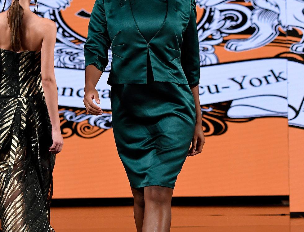 Corinna Runway Dress and Jacket