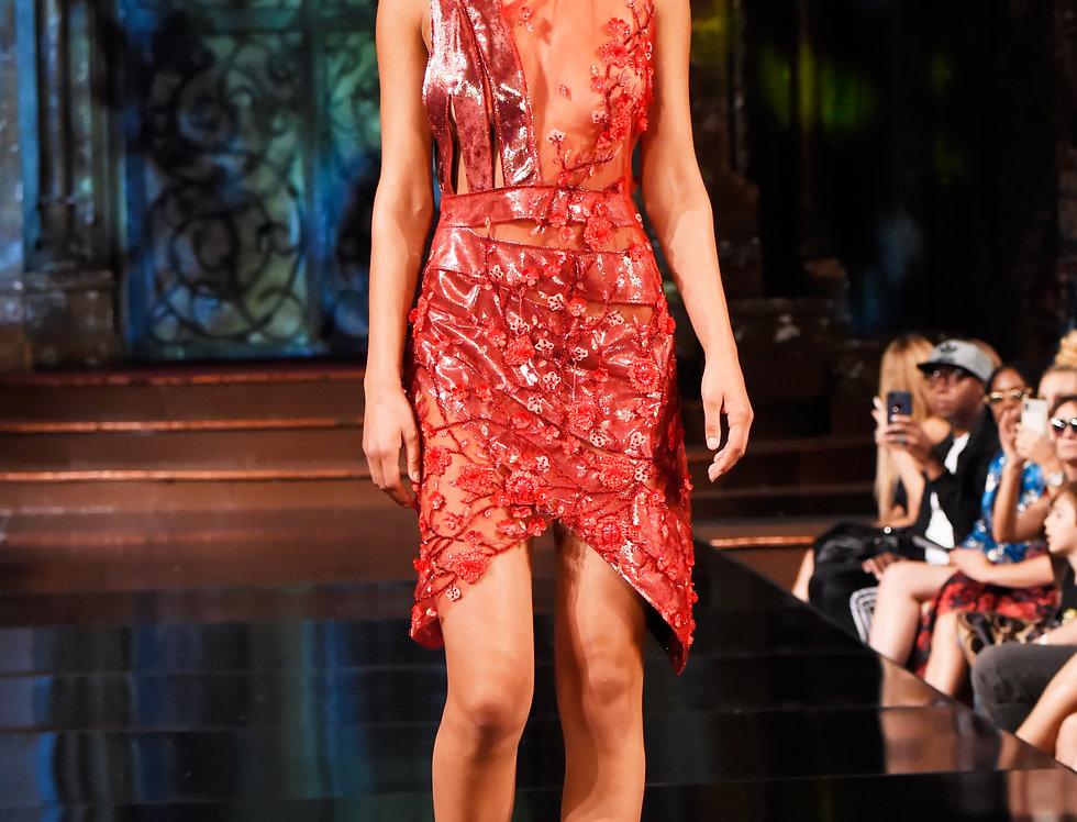 Fire Runway Dress
