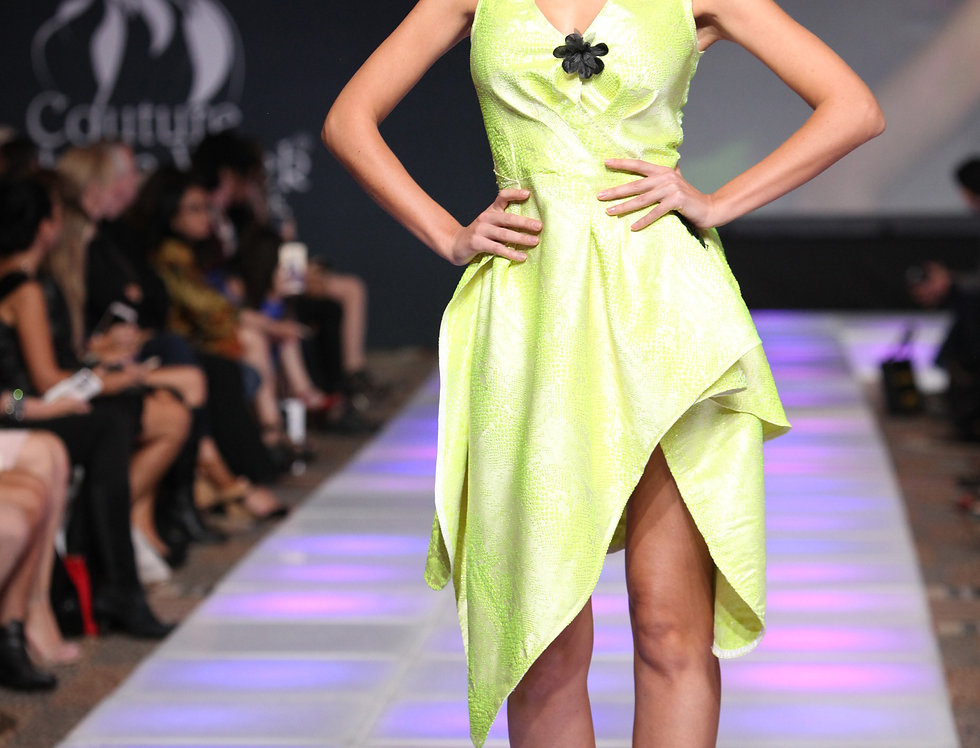 """""""Halo"""" Runway Gown"""