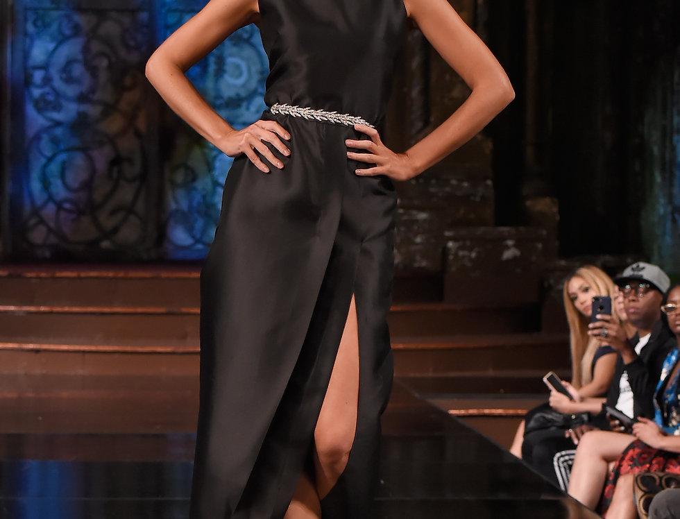 Desire's Black Runway Dress