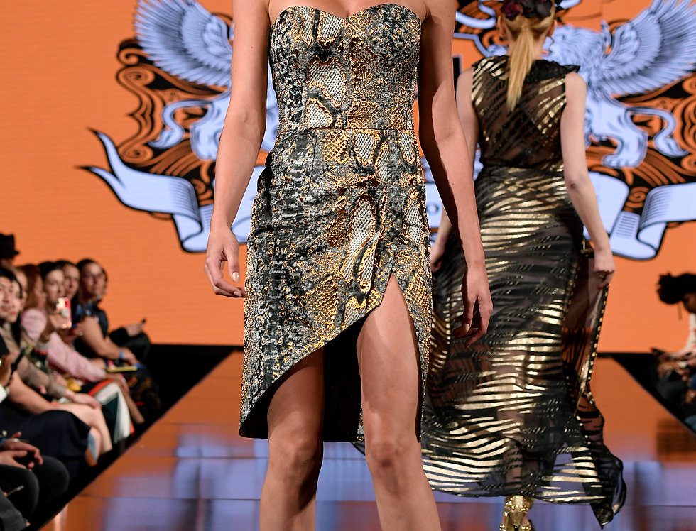Python Runway Dress