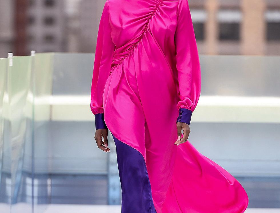 """Whitney Asymetrical Dress"""