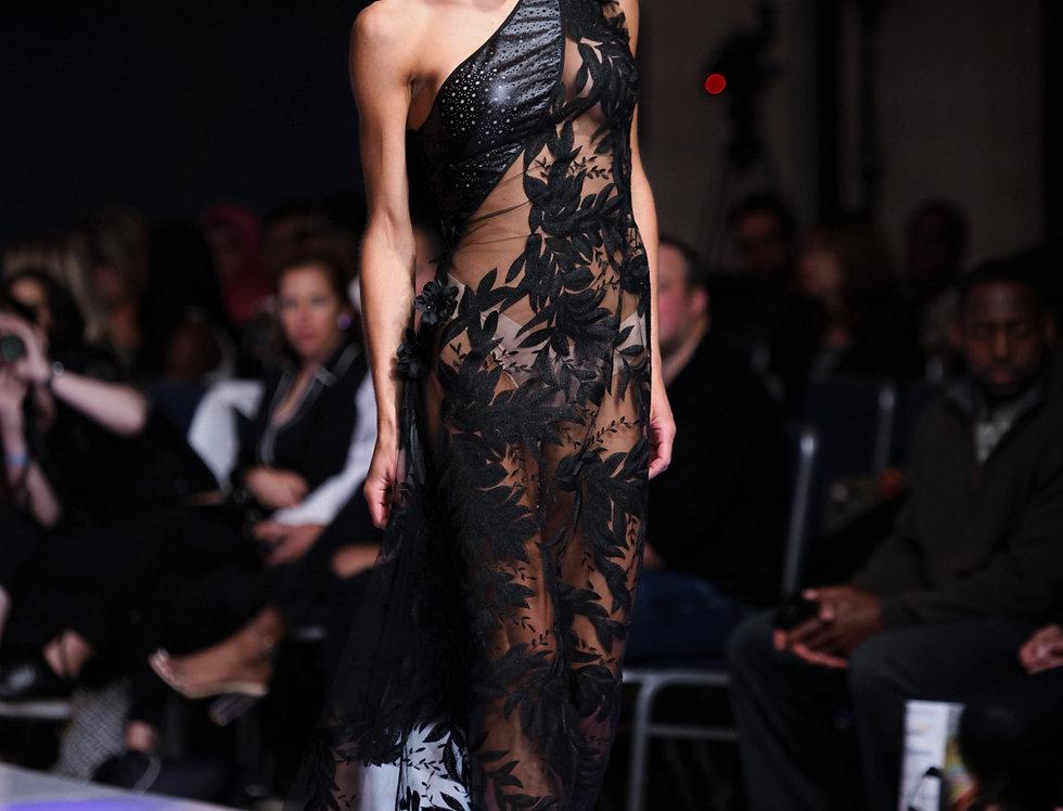 """Traitresse"" Runway Dress"