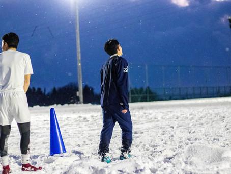 日之丸雪國的足球訓練(2019年1月)