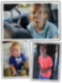 Photo collage of children with rare diseases
