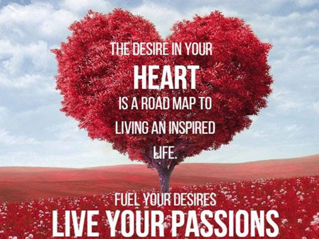 Live your passions