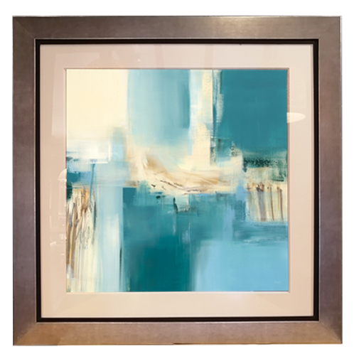 Reflections; 100x100 cms