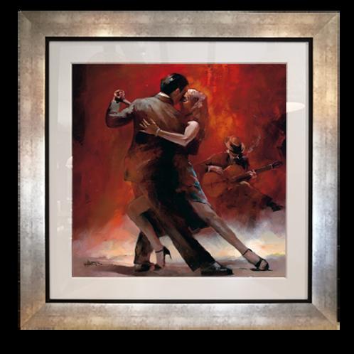 Tango; 102x102 cms
