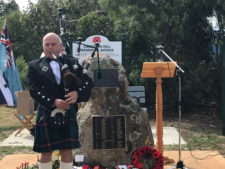 Remembering at Cambrian Hill