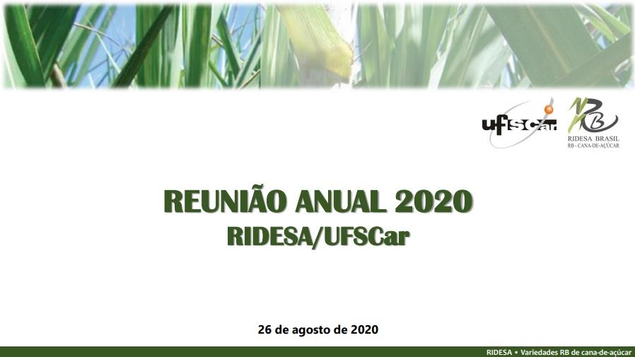 Reunião Anual 2020