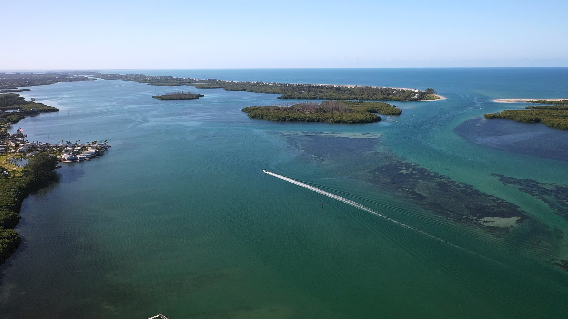 Lemon Bay and Stump Pass