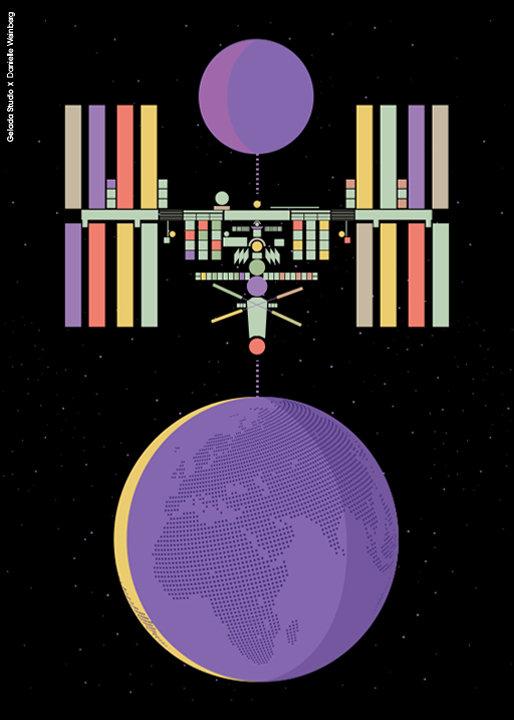 התחנה הבאה... תחנת החלל הבינלאומית!